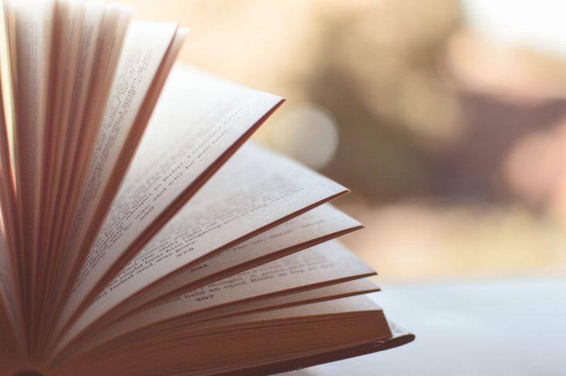 開かれた本の画像